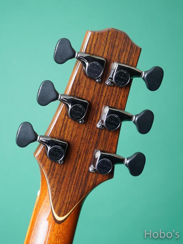"Yokoyama Guitars (横山 正) AR-WTB  ""White Spruce / Brazilian Rosewood""  2"