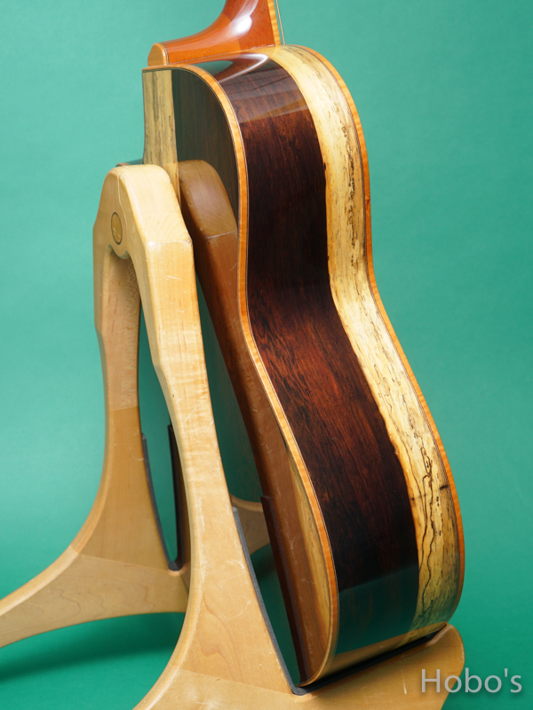 "Yokoyama Guitars (横山 正) AR-WTB  ""White Spruce / Brazilian Rosewood""  7"