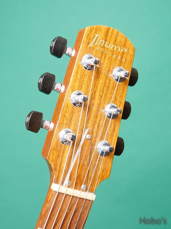 "Iinuma Guitars (飯沼 哲) Model A ""Sitka / Quilted Mahogany""     1"