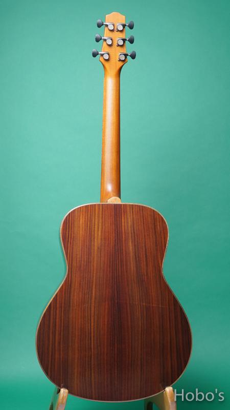 "Yokoyama Guitars (横山 正) AN-ER ""Engelmann / Indian Rosewood""  BACK"