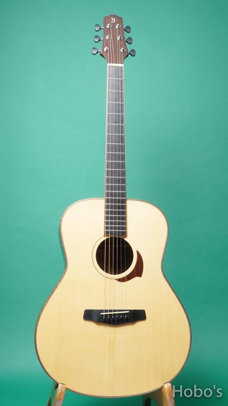 "Yokoyama Guitars (横山 正) AN-ER ""Engelmann / Indian Rosewood""  FRONT"