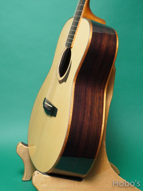 "Yokoyama Guitars (横山 正) AN-ER ""Engelmann / Indian Rosewood""  8"