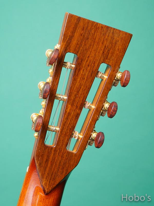 John How Guitars XBGC Mahogany 2