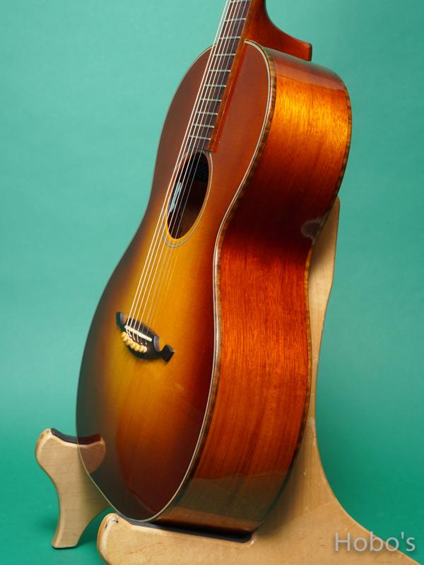 John How Guitars XBGC Mahogany 8