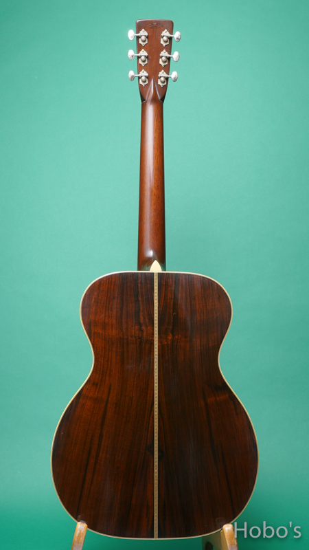 Pre-war Guitars Co. OOO-28 SB Brazilian Rosewood Level 1 BACK