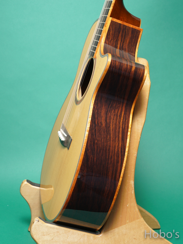"""Tears Custom OMC-ME """"Engelmann / Madagascar Rosewood""""   8"""