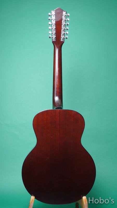 "GUILD F-112 SB ""12 Strings Guitar"" BACK"