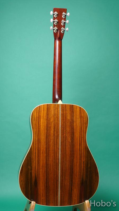 "Altman (Carl R. Altman) A-D-2 1937 Custom ""Adirondack/Brazilian Rosewood""   BACK"