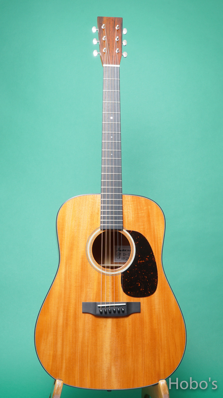 "SAKATA GUITARS (坂田 ひさし) D-17C ""All Cuban Mahogany""   FRONT"