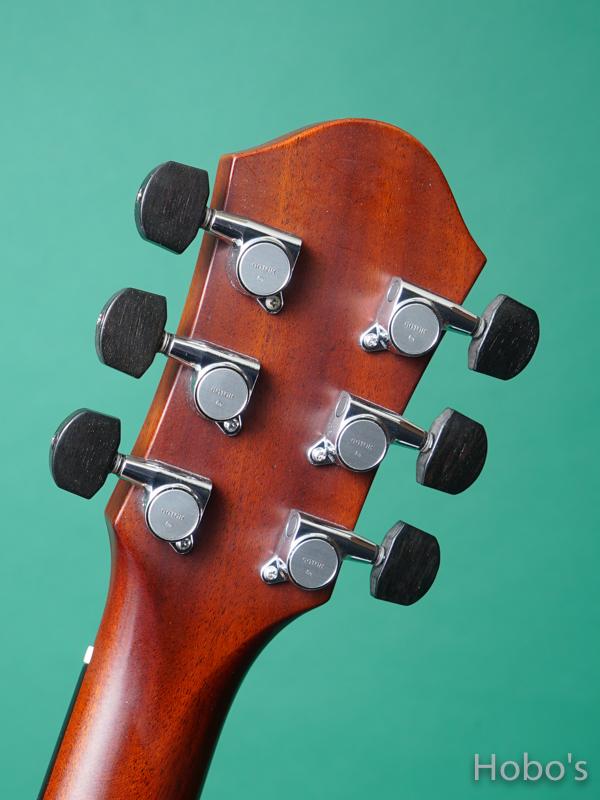 "STEVENS CUSTOM GUITARS  OM-P ""Bear Claw Sitka Top""  2"