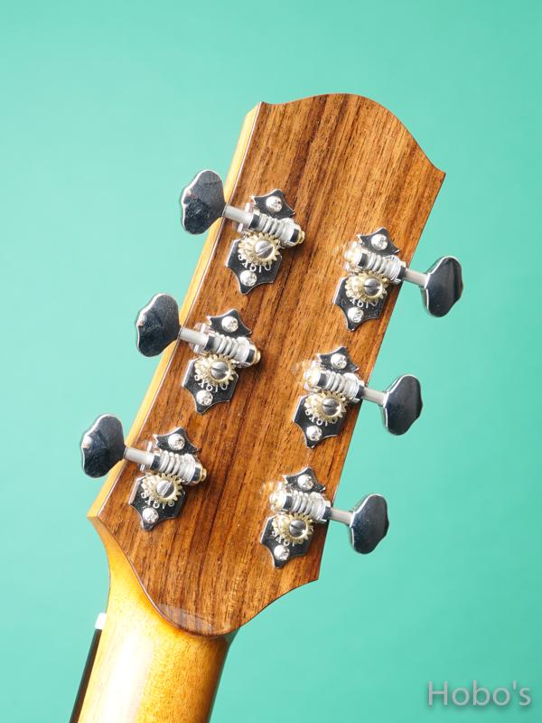 """Hayase Guitars (早瀬 輪) Rom-cw custom """"German / Indian Rosewood""""    2"""