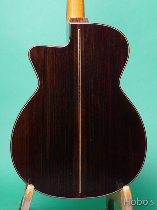 "Hayase Guitars (早瀬 輪) Rom-cw custom ""German / Indian Rosewood""    6"
