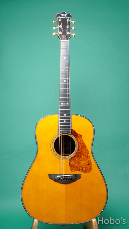 """Terry's Terry / Premium Terry (テリー中本) PTJ-100 """"German / Brazilian Rosewood""""   FRONT"""