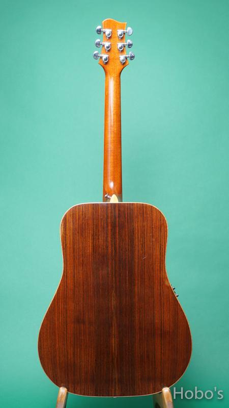 Omega Guitars (Kevin Gallagher) D02 Rosewood BACK