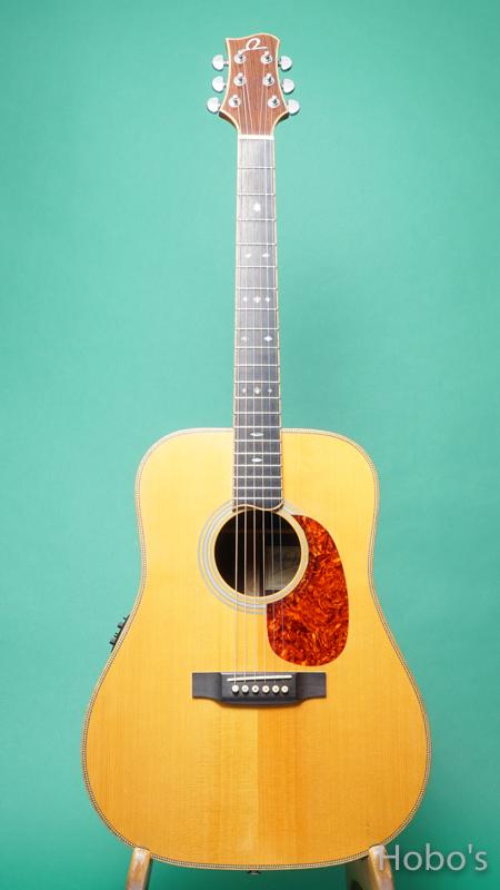 Omega Guitars (Kevin Gallagher) D02 Rosewood FRONT