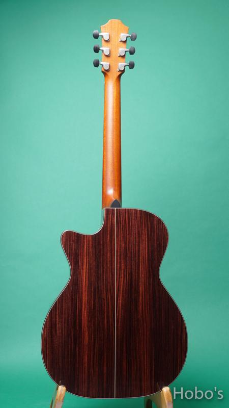 "FURCH GUITARS Yellow OMc-CR Custom ""Deep Body"" BACK"