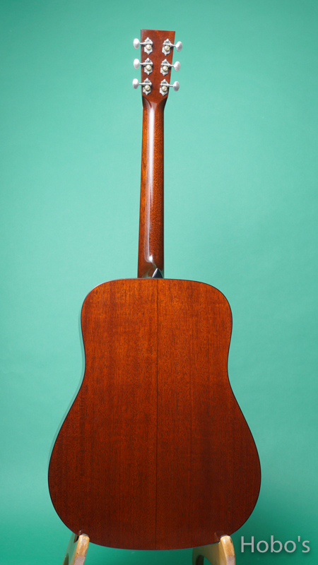 """COLLINGS CW A Mh """"Winfield Mahogany""""  BACK"""