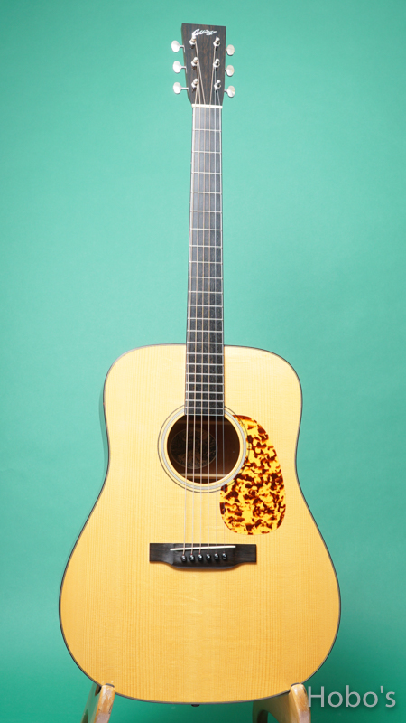 """COLLINGS CW A Mh """"Winfield Mahogany""""  FRONT"""
