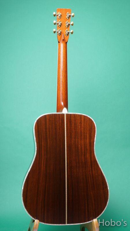 """SEAGULL (塩崎 雅亮) SD-85 """"Englemann / Indian Rosewood""""       BACK"""