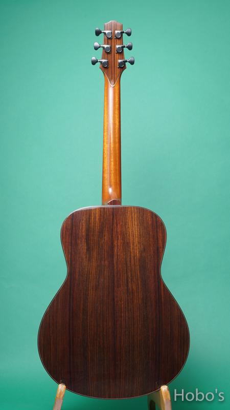"Yokoyama Guitar (横山 正) AN-ER Cusotm ""Abalone Trim""   BACK"