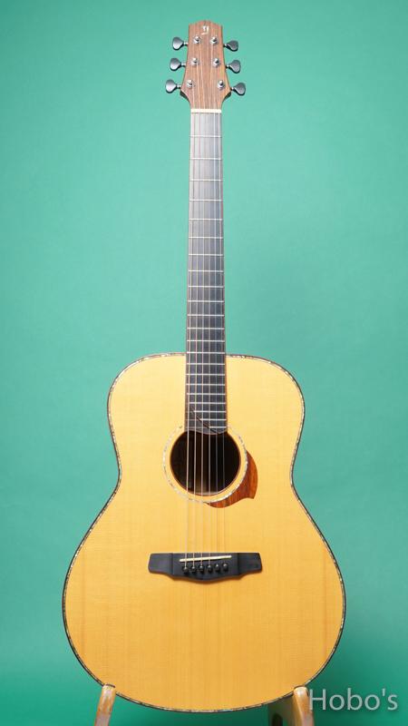 "Yokoyama Guitar (横山 正) AN-ER Cusotm ""Abalone Trim""   FRONT"