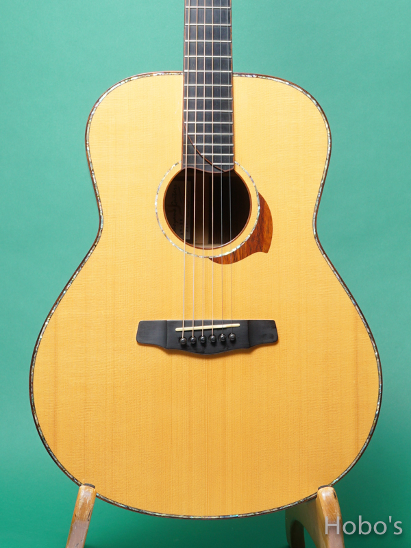 "Yokoyama Guitar (横山 正) AN-ER Cusotm ""Abalone Trim""   5"