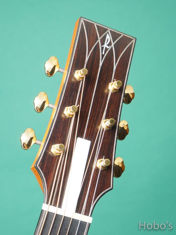 "Hayase Guitars (早瀬 輪) N-gothic ""German / African Blackwood""  1"