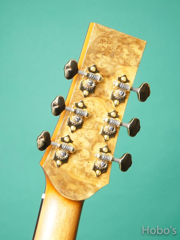 "Hayase Guitars (早瀬 輪) N-gothic ""German / African Blackwood""  2"
